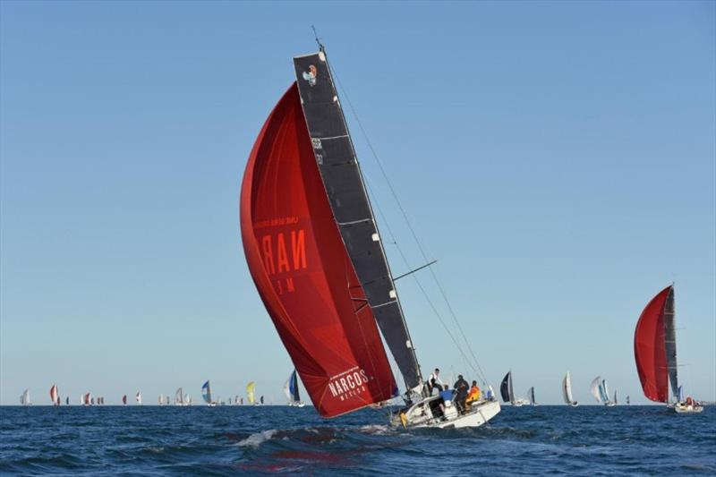 Ian Hoddle Class40 Manic - RORC Cowes Dinard St Malo Race - photo © Rick Tomlinson / RORC