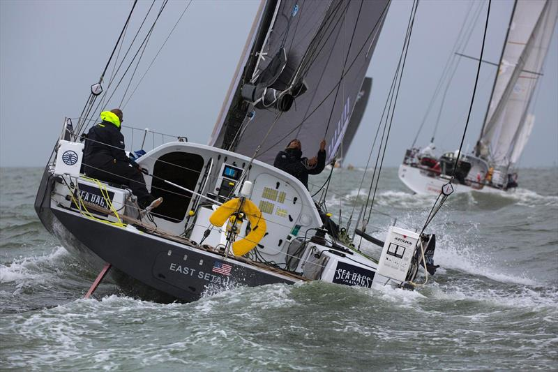 Class 40 racing action at the Atlantic Cup - photo © Image courtesy of The Race Around/Billy Black