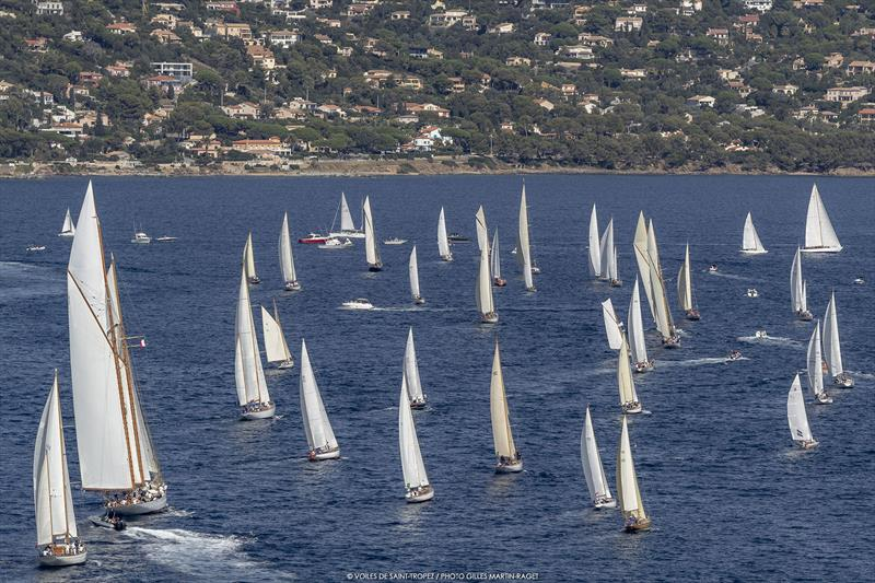 Les Voiles de Saint-Tropez 2019 day 6 - photo © Gilles Martin-Raget