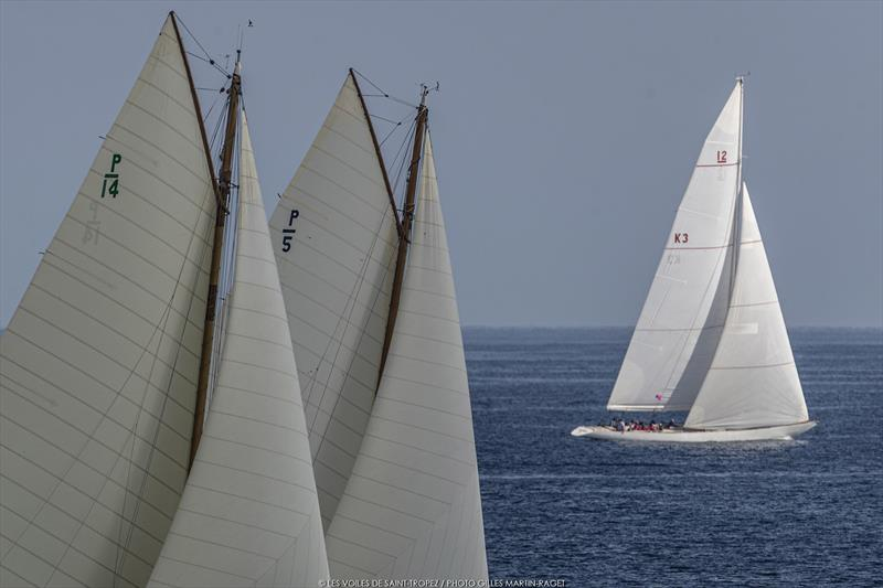 Voiles de Saint-Tropez day 4 photo copyright Gilles Martin-Raget taken at Société Nautique de Saint-Tropez and featuring the Classic Yachts class