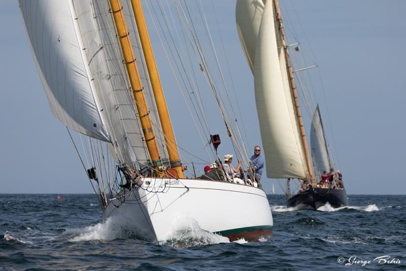 34th Annual Gloucester Schooner Festival photo copyright George Bekris taken at  and featuring the Classic Yachts class