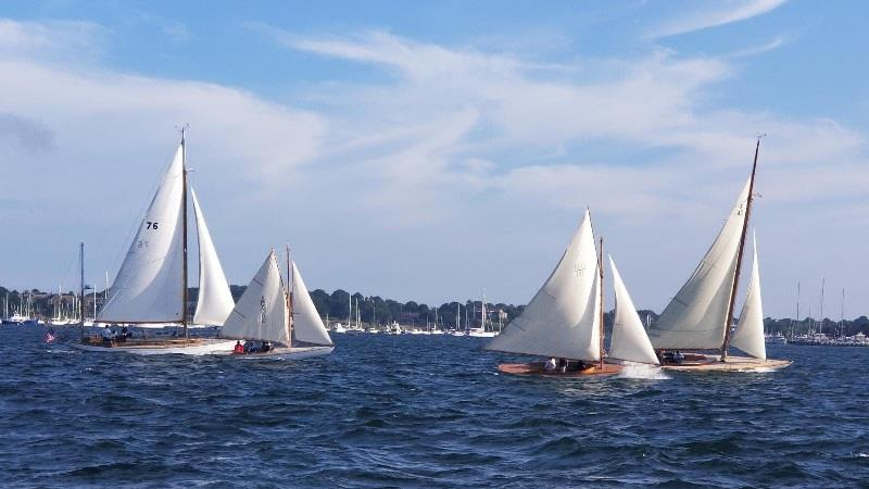 Classic Yachts fleet - photo © Kate Wilson