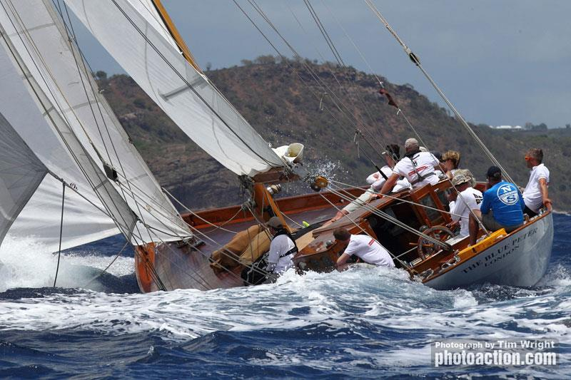 Racecourse action at the 2018 Antigua Classic Yacht Regatta - photo © Image courtesy of Tim Wright