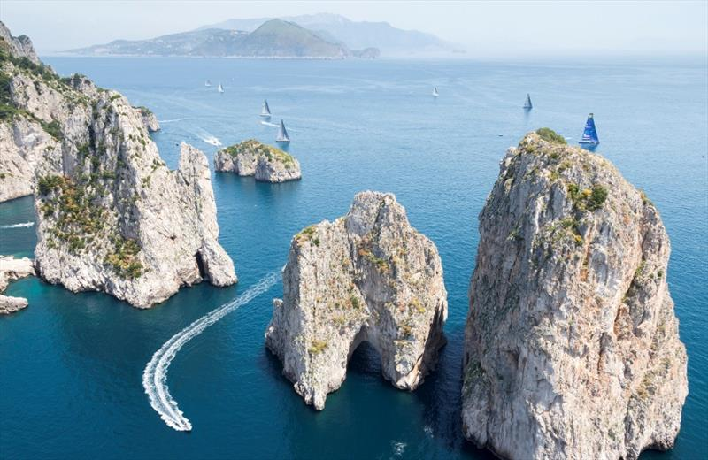 Capri's magnificent Faraglioni rocks where the final race will finish. - photo © Carlo Borlenghi / Studio Borlenghi