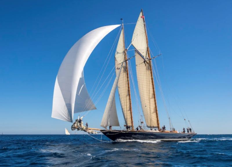Mariette of 1915 - 138ft 1915 Nathanael Herreshoff schooner - photo © Francesco e Roberta Rastrelli / Blue Passion 2018