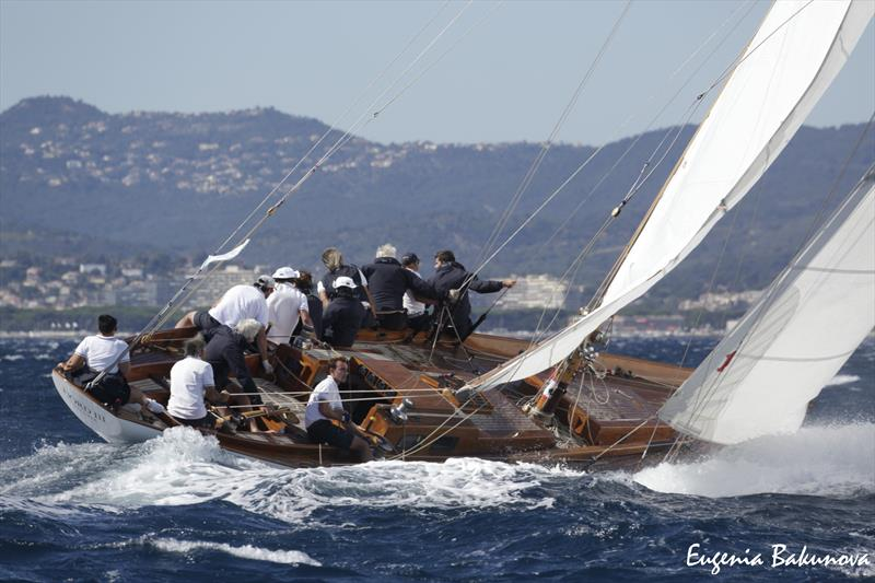 Final day of  Classic Yachts participating in the  Regates Royales Cannes, September 2019.  - photo © Eugenia Bakunova / www.mainsail.ru
