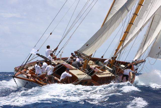 65' Gannon & Benjamin schooner Juno - Antigua Classic Yacht Regatta photo copyright Antigua Classic Yacht Regatta taken at Antigua Yacht Club and featuring the Classic Yachts class