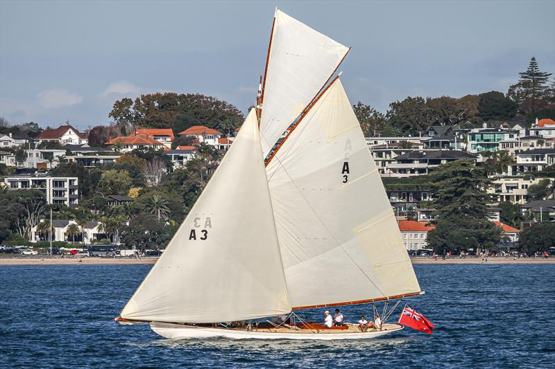 Ariki- RNZYS Club Marine Insurance Winter Series - May 16, 2020 photo copyright Richard Gladwell / Sail-World.com taken at Royal New Zealand Yacht Squadron and featuring the Classic Yachts class