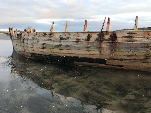 Copper exposed - retrieval of the remains of the 53ft Daring lost in 1865 at the entrance to the Kaipara Harbour - photo © Classic Yacht Charitable Trust