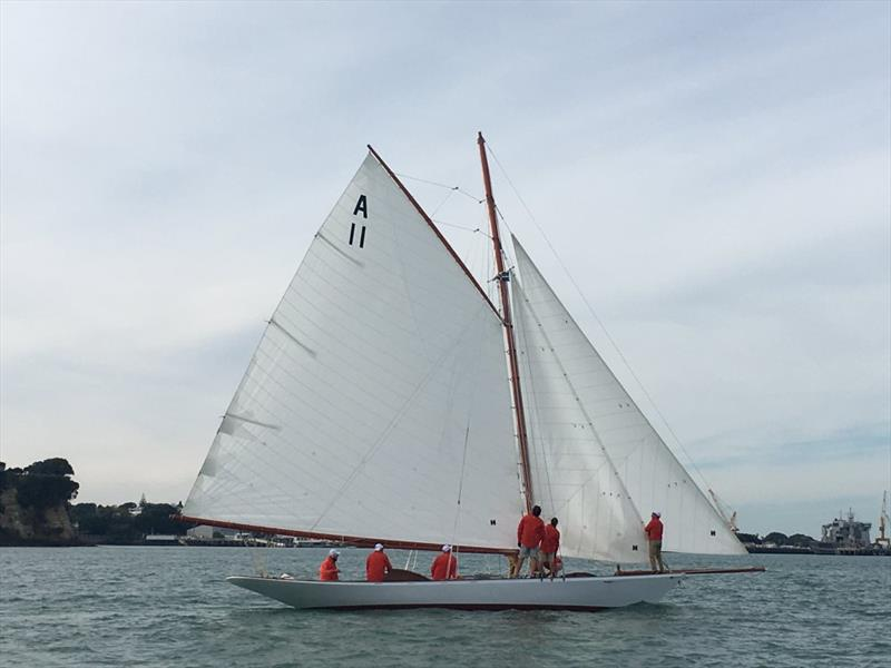 Ida's first sail - May 23, but without her topsail. - photo © Classic Yacht Charitable Trust