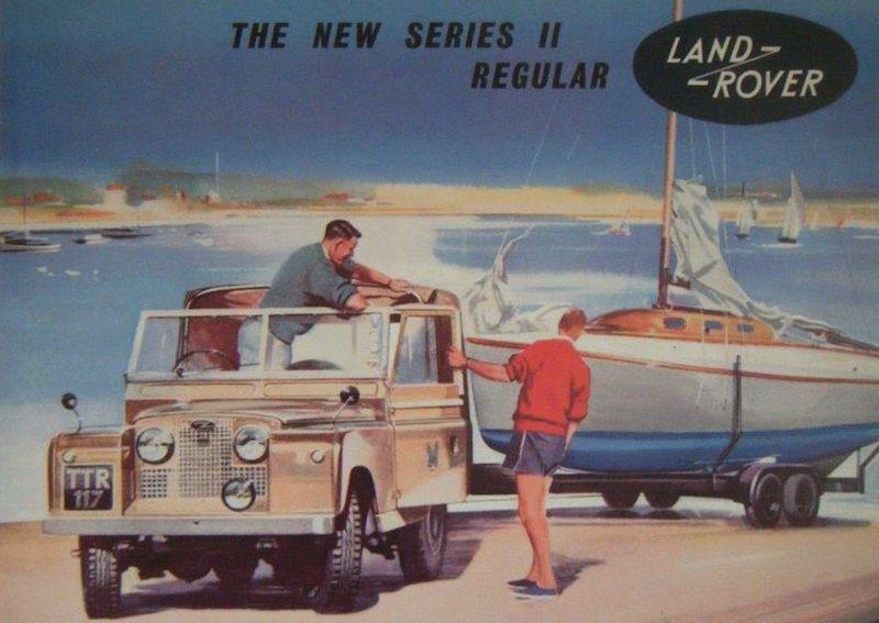 Fairey Marine worked alongside Land Rover with shared marketing objectives (this was cutting edge stuff in the late 1950s!) - photo © Fairey Marine