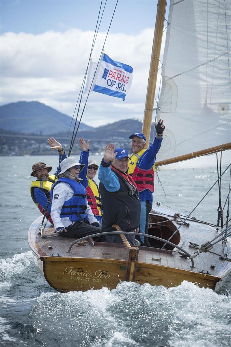 Parade of Sail - photo © Doug Thost
