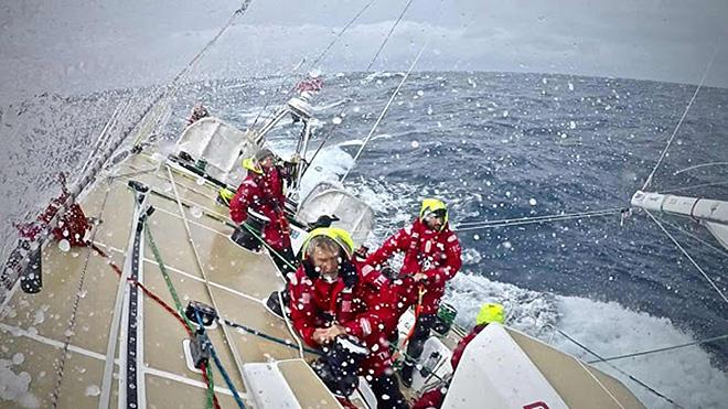 On board Sanya Serenity Coast - 2017-18 Clipper Round the World Yacht Race  - photo © Clipper Race