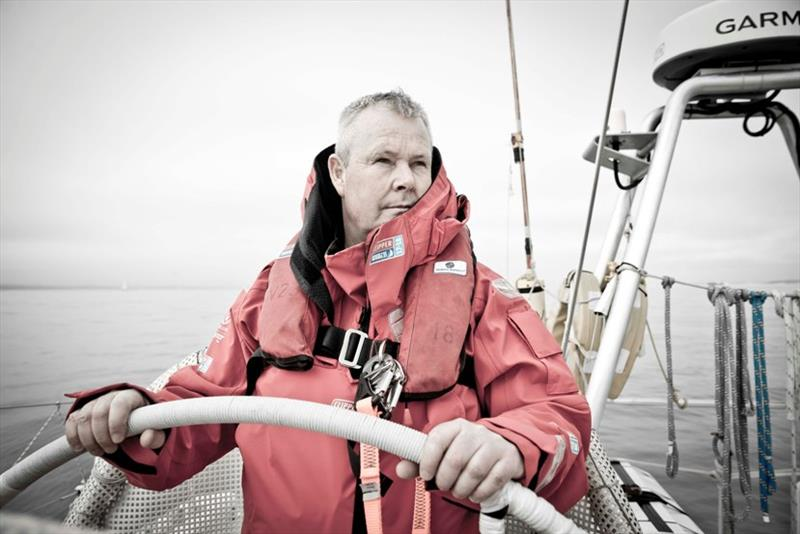 Great Britain skipper David Hartshorn - Clipper 2017-18 Race - photo © onEdition