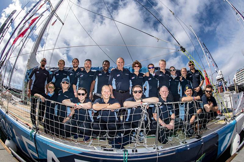 Clipper 2017-18 Round the World Yacht Race - Dare To Lead Team - photo © Ben Solomon