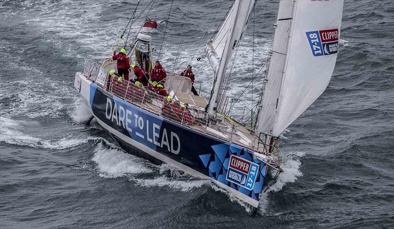 Clipper 2017-18 Round the World Yacht Race - Dare To Lead Team - photo © onEdition