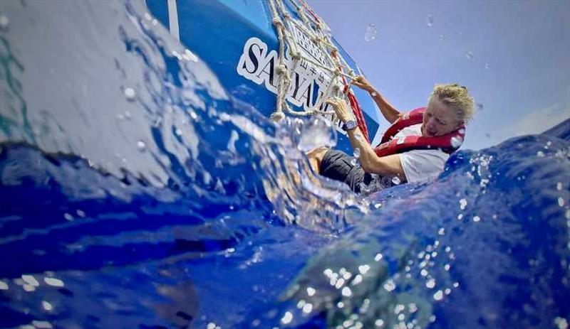 Wendy Tuck in Sanya - photo © Clipper Race