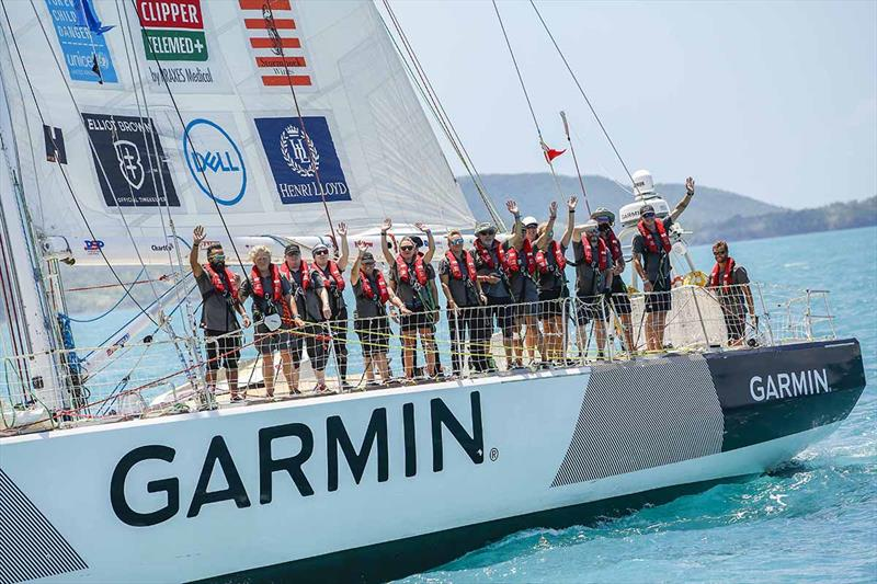 Clipper Round the World Race - Garmin - photo © Brooke Miles Photography