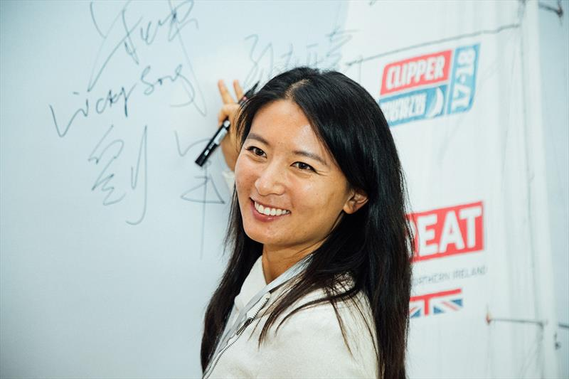 First Chinese woman to sail around the world - Clipper Round the World Yacht Race - photo © Clipper Race