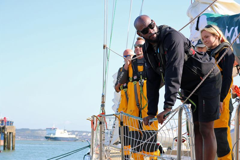 Jerome departing Clipper Race HQ for his hometown, London - photo © Clipper Race