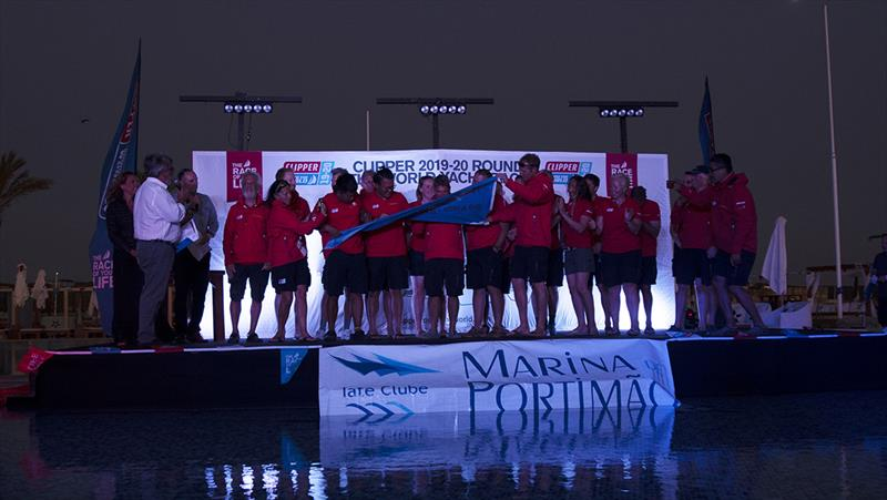 Qingdao are presented with third place honours - Clipper 2019-20 Race - Race 1 prizegiving - photo © Clipper Race