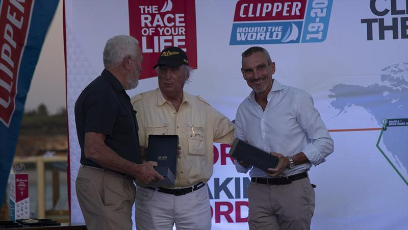 Robin William - Clipper 2019-20 Race - Race 1 prizegiving - photo © Clipper Race