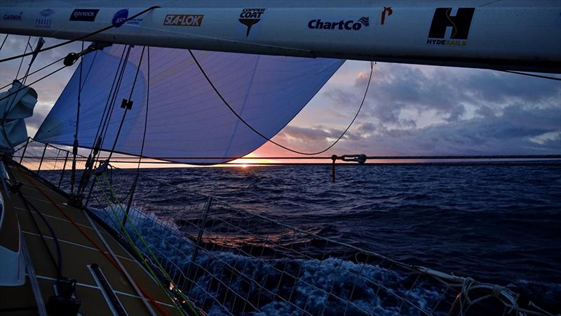 Qingdao - Clipper Round the World Yacht Race Leg 1 - Race 2, Day 27 - photo © Barry Goble