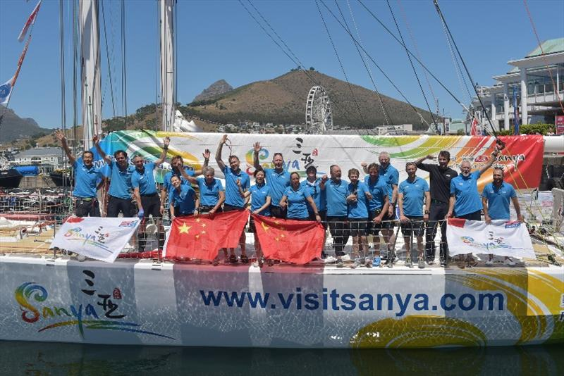 Visit Sanya crew - The Clipper Race Leg 2 - Race 3, Day 18 - photo © Clipper Race