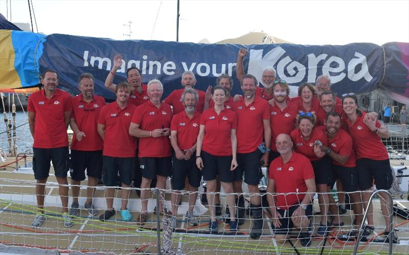 Imagine your Korea crew - The Clipper Race Leg 2 - Race 3, Day 18 - photo © Clipper Race