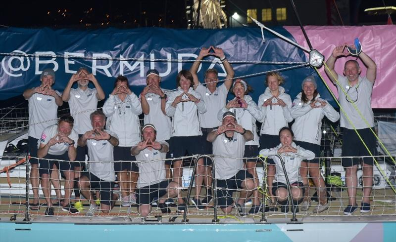 GoToBermuda crew - The Clipper Race Leg 2 - Race 3, Day 18 - photo © Clipper Race