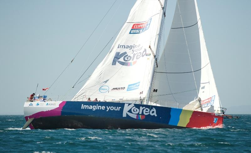 Imagine your Korea - The Clipper Race Leg 2 - Race 3, Day 18 - photo © Clipper Race