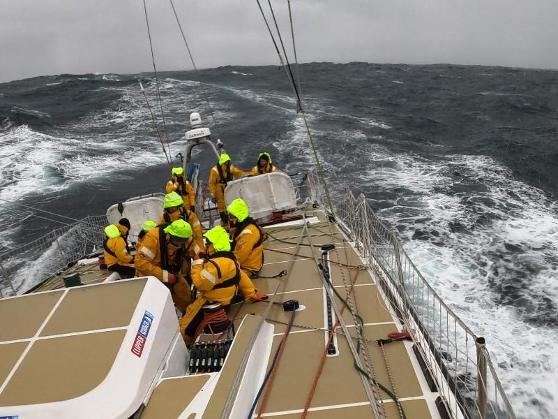 Racing on board WTC Logistics - The Clipper Race Leg 3 - Race 4, Day 10 - photo © Clipper Race