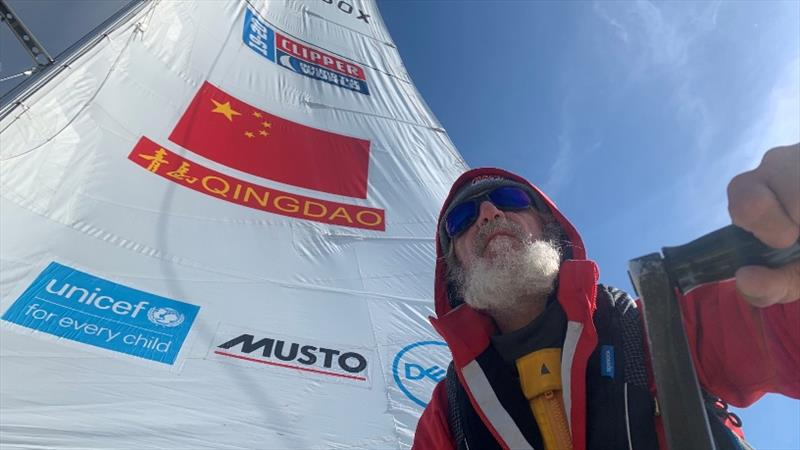 Grinding away on Qingdao - The Clipper Race Leg 4 - Race 5, Day 14 - photo © Clipper Race