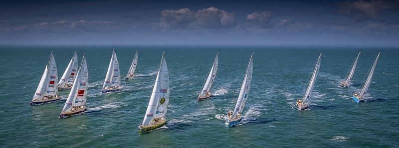 2019-20 Clipper Race fleet - photo © Clipper Race