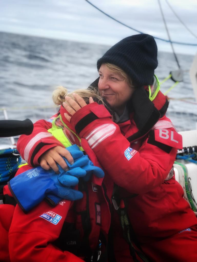 Telling Badger there were no more Tim Tams - photo © Clipper Race