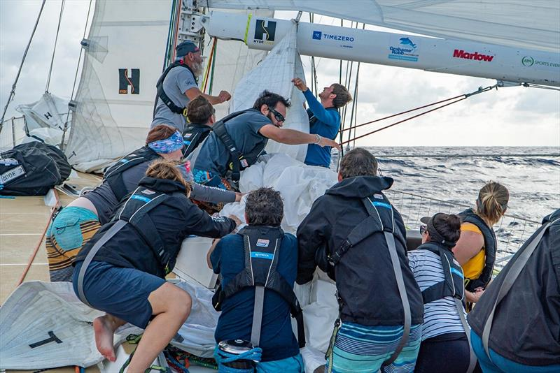 Clipper Round the World Yacht Race Leg 5 - photo © Maeva Bardy