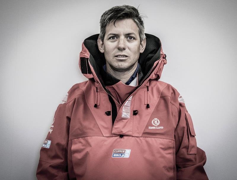British sailor Dale Smyth, skipper of Dare to Lead - photo © Clipper Ventures