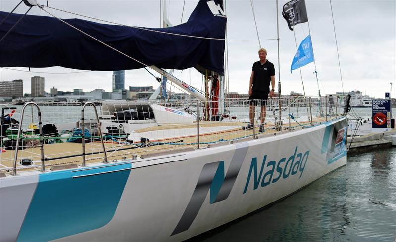 Rob Graham has today been formally announced as the professional Skipper who will lead the Nasdaq team entry in the Clipper Race 2017-18 - photo © onEdition
