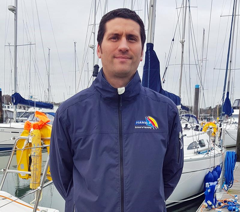 Chris Rushton, Principal of Hamble School of Yachting - photo © Kathryn Pridie