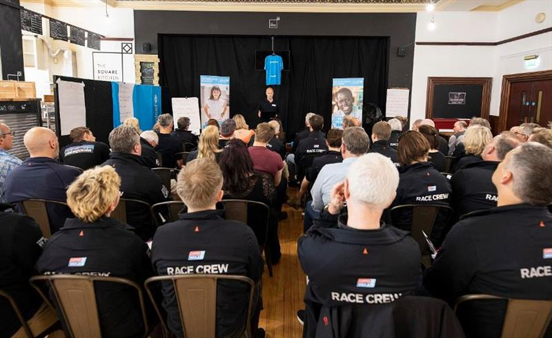 Team Unicef making plans for the upcoming circumnavigation - photo © Morgan Kasmarik