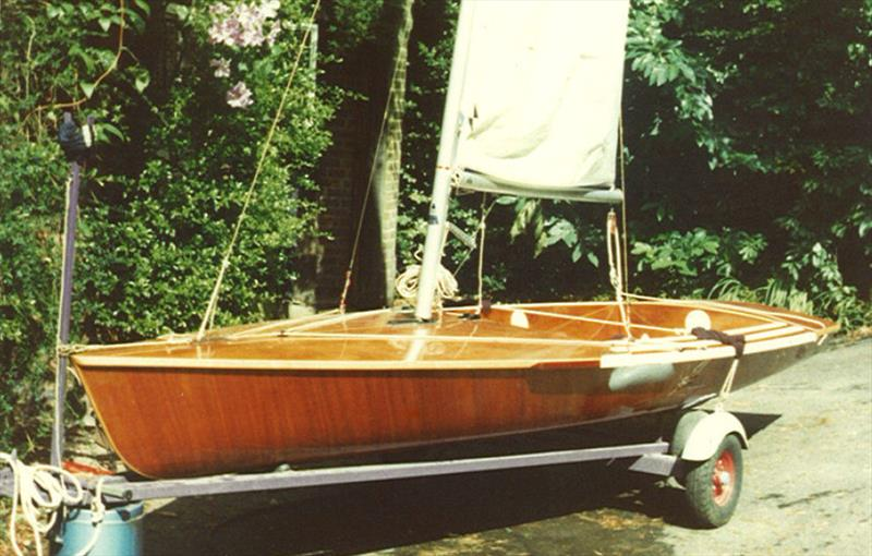 Beautiful cold moulded Contenders are an ever present part of the fleet today, but the first boat built 'from scratch' in the UK was another gorgeous Chippendale 'classic' ' but only after Jack and Peter Milne had sorted out the hull lines for the IYRU - photo © Andy Hind