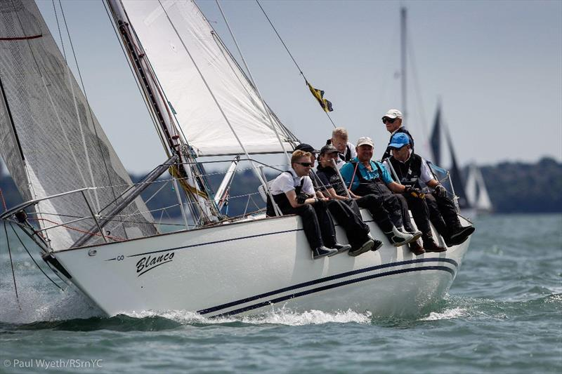 Richard Vanner's Contessa 32 Blanco - 2019 Champagne Charlie July Regatta - photo © Paul Wyeth