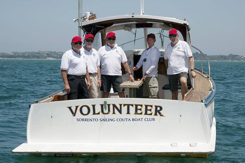 Thanks to all the volunteers. Here are some from the start boat - photo © A.J. McKinnon