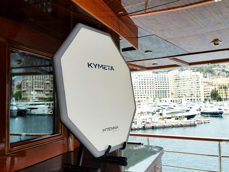 Kymeta Corporation's new mTenna system offers a high-speed, lightweight and low-profile sat-comms solution - photo © Image courtesy of the Kymeta Corporation