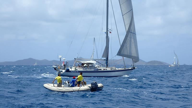 ARC Europe 2018 - Nanny Cay - Ngahue IV photo copyright World Cruising taken at  and featuring the Cruising Yacht class