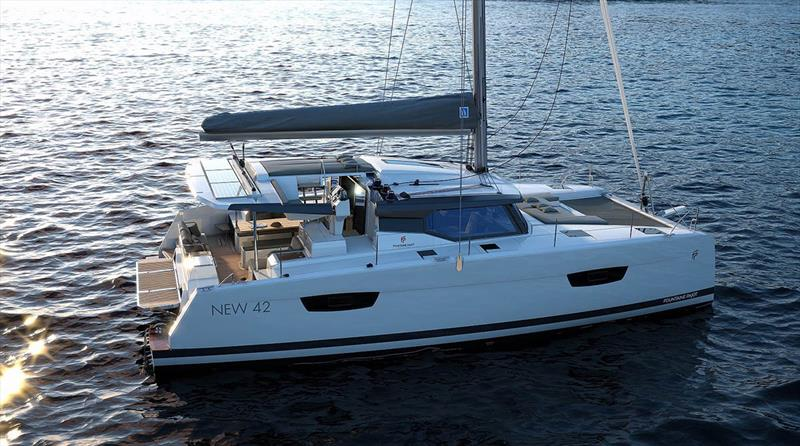 The new Astréa 42 - photo © Multihull Solutions