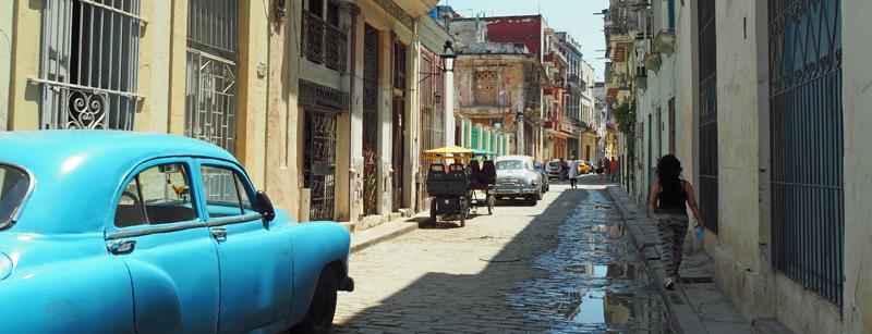 Havana old town - photo © Neil Langford, SV Crystal Blues