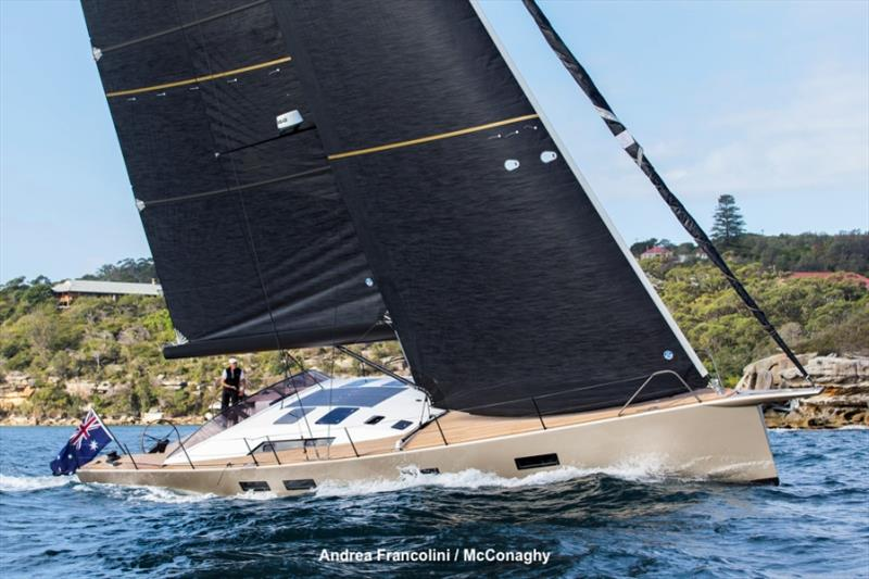 Shearwater, 57 foot performance cruiser - photo © Andrea Francolini
