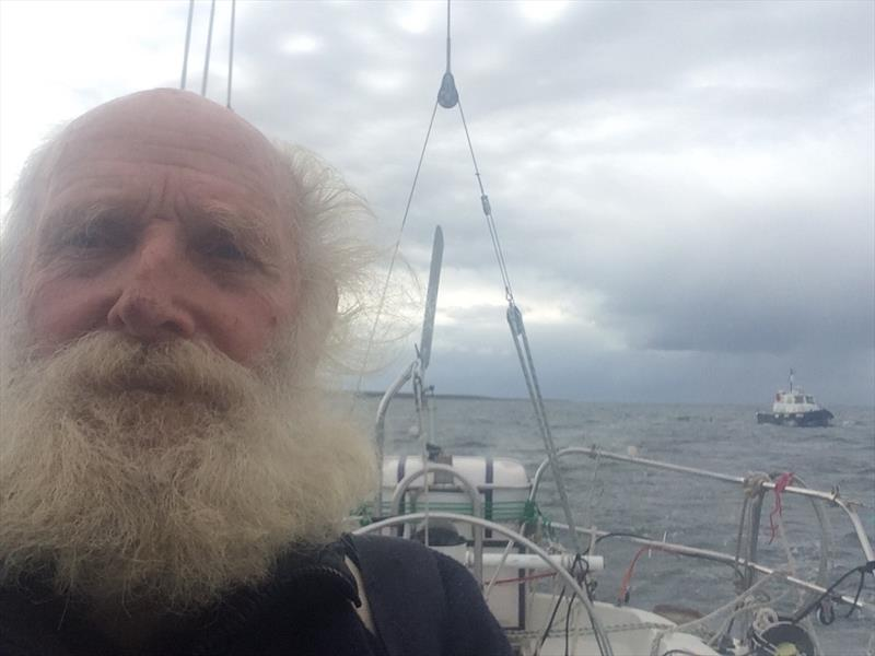 Oldest solo sailor to circumnavigate the world west-about arrives at Southport Yacht Club