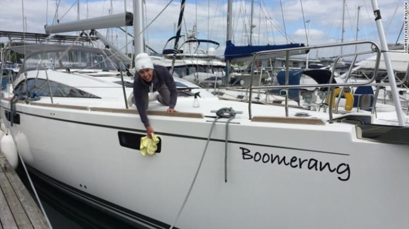 Giving up work to sail around the world
